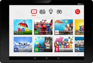 YouTubeKids Interface