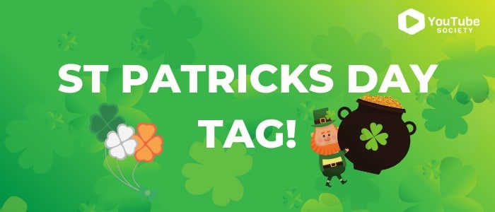 St Patricks Day Tag
