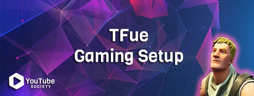 Tfue Gaming Setup & Camera Equipment