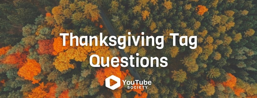 Thanksgiving Tag Questions